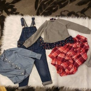 OshKosh tops and overalls
